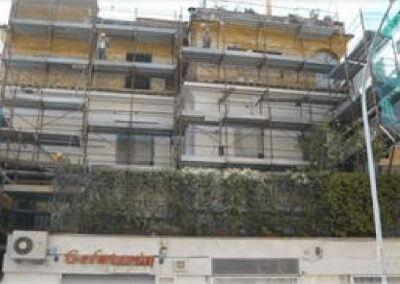 Restauro della facciata e rifacimento della copertura